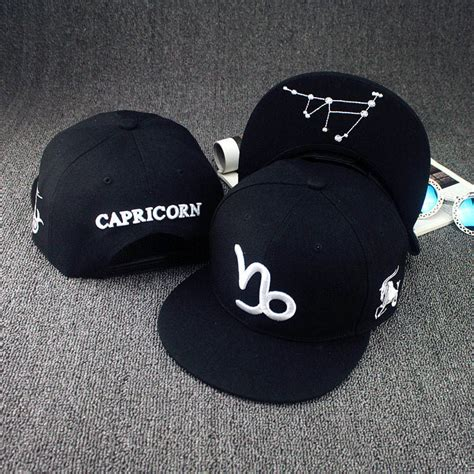 topi baseball cap by kiyomi twelve 12 constellations hats black topi zodiac hat fitted