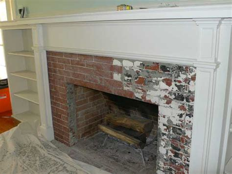 creating an tile fireplace house