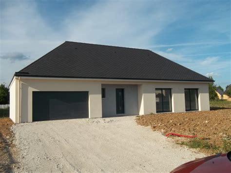 Prevnext With Maison Plain Pied simple maison de plain pied eure m rf plan de maison toit