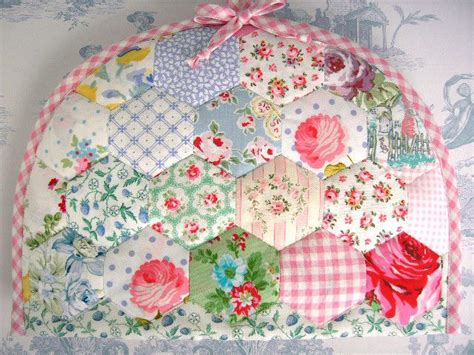 Hexagon Patchwork Projects - cath kidston fabric hexagon template
