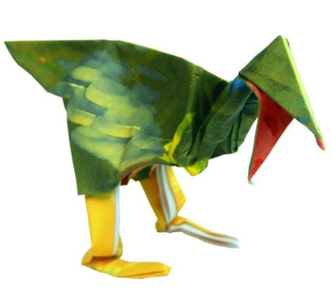 Origami Velociraptor - joost langeveld origami page