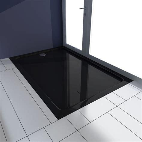 piatto doccia 80 x 120 articoli per piatto doccia rettangolare in abs nero 80 x