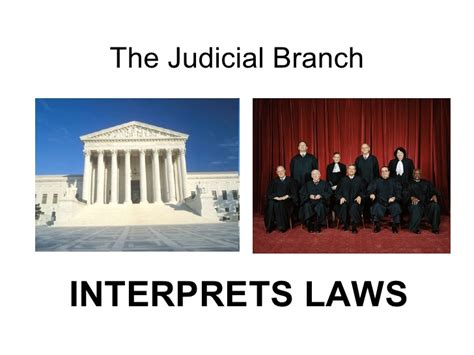 Judicial Branch Search The Judicial Branch