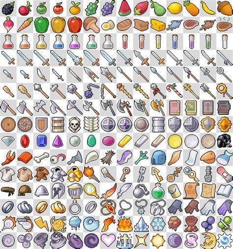 xy pattern generator rpg pixel art sprites items rpg icons exterior
