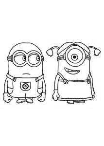 imagenes para dibujar de los minions dibujo de los minions para imprimir y colorear 3 de 24