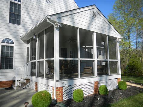 3 season porches 3 season room screen porch conversion in hanover co has