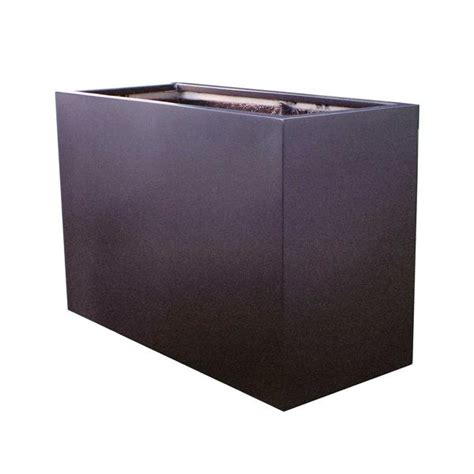 planters glamorous metal rectangular planter rectangular