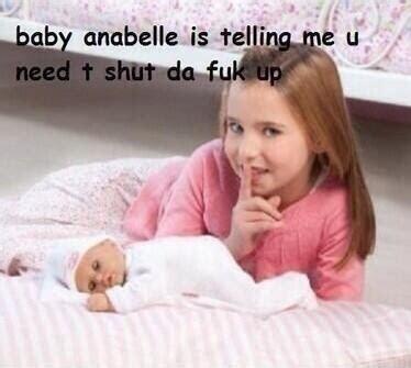 Little Girl Meme - little blonde girl funny meme