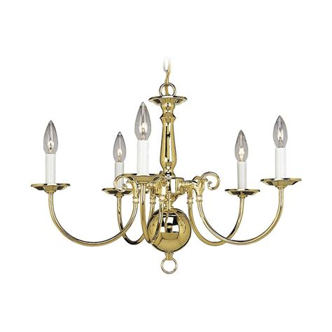 Progress Williamsburg Chandelier In Polished Brass Finish Williamsburg Brass Chandelier