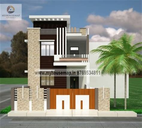 Small Bungalow Style House Plans by Elevation Designs Front Elevation Design House Map