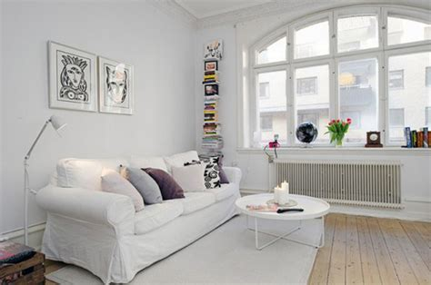 White Furniture Living Room Ideas For Apartments Scandinavian Style Apartment Ideas From Alvhem Makleri Interior White Decorating