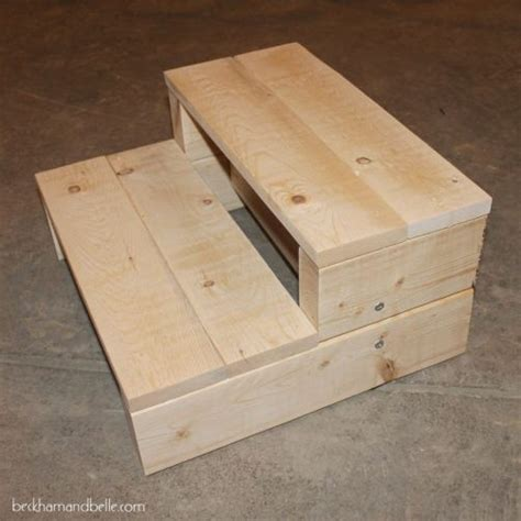 Easy Step Stool Plans by Simple Kid S Diy 2x4 Wood Step Stool Projects To