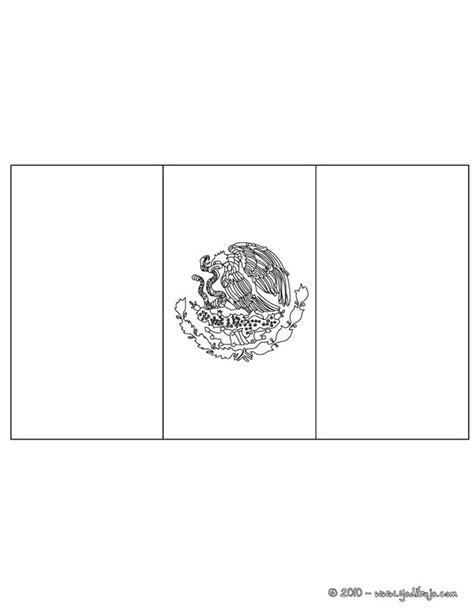 imagenes para colorear bandera de mexico dibujos para colorear bandera mexico es hellokids com