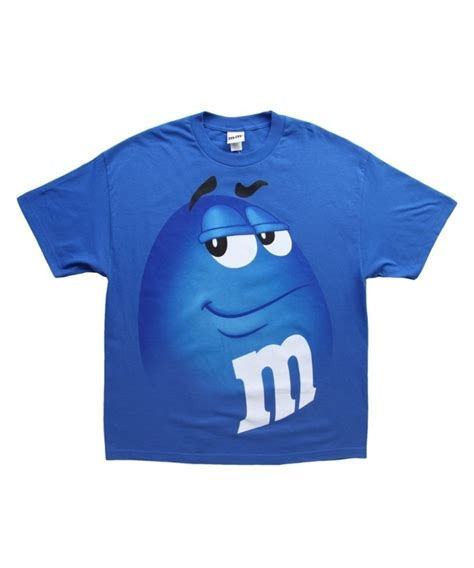 T Shirt I M m m blue costume