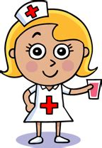 Image result for school nurse cartoon