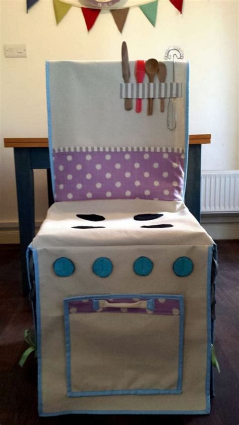 Slipcovers For Childrens Chairs by How To Make A Play Kitchen Slipcover Craft Projects For