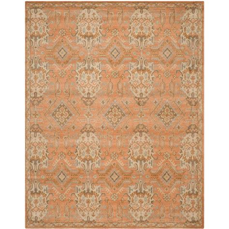 5ft rug safavieh wyndham terracotta 5 ft x 8 ft area rug wyd203a 5 the home depot