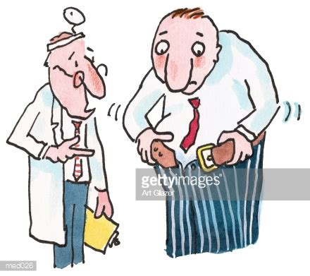 The Lash Times Gc 026 doctor overweight stock illustration med026 getty images