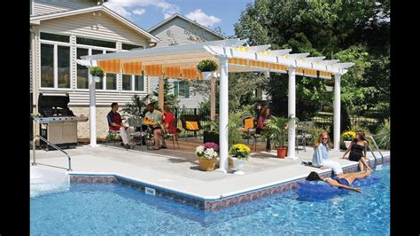 build a l shade sun shade for pergola how to make cover build on concrete