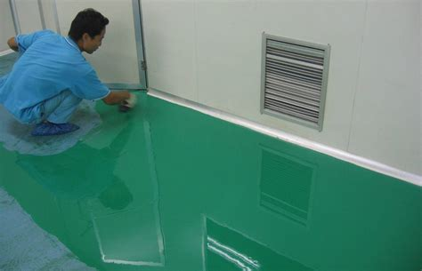 click to view size photo - Self Leveling Paint