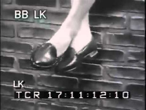 slippers commercial 1950s black white archival footage schiff shoes