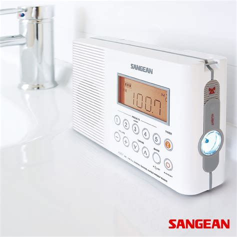 Radio For Shower Bathroom Waterproof Shower Radio Sangean Modernoutlet
