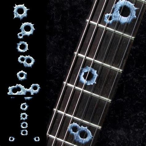 Murah Stiker Fret Gitar Mixed Pattern Guitar Fretboard Sticker fret markers inlay stickers jockomo