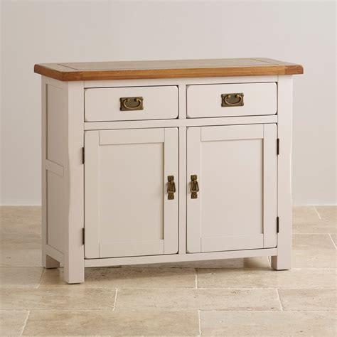 Oak Bedroom Furniture Sets kemble small painted sideboard in rustic solid oak