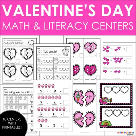 valentines day sequence math worksheets for kinder 1000 images about