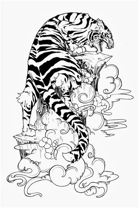 tattoos book 2510 free printable tattoo stencils tiger