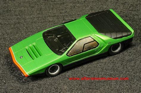 1968 bertone carabo 1 43 171 alfa romeo model car museum