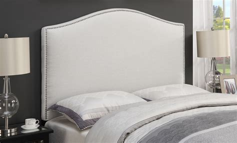 Nailhead King Headboard Linen King Cal King Nailhead Upholstered Headboard Ds D016 270 432 Pulaski
