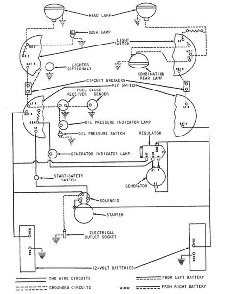 deere model a wiring diagram php wiring