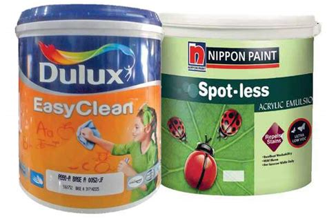 Cat Nippon Paint Spotless 25kg cat tembok ramah anak