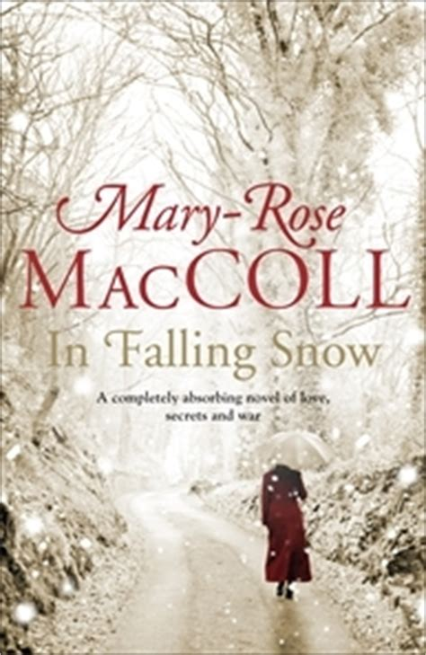 snow falling books in falling snow by maccoll reviews discussion
