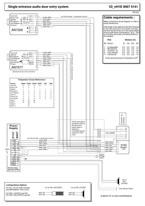 28 srs intercom wiring diagram 188 166 216 143