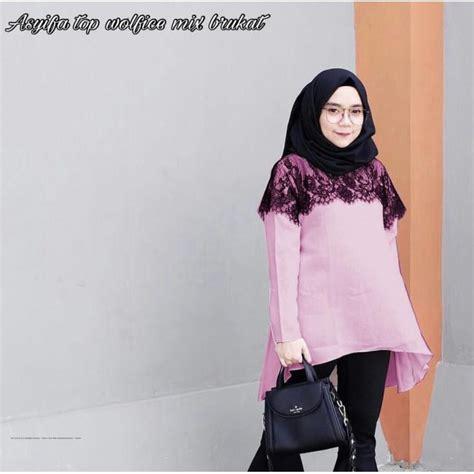 busana muslim terbaru asyifa top grosir baju muslim