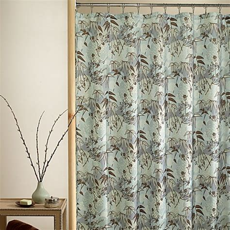 asian inspired shower curtains kiko 70 inch w x 72 inch l fabric shower curtain bed