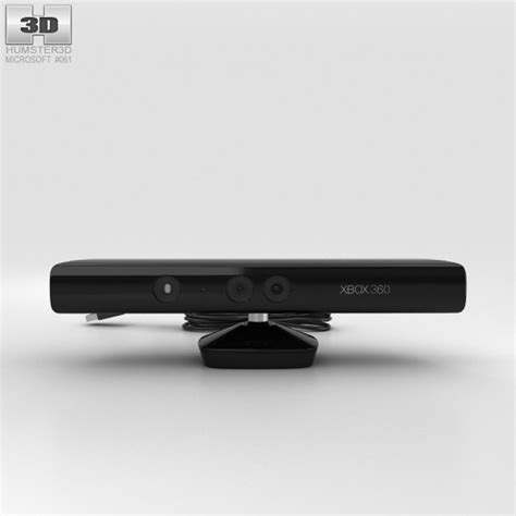 microsoft kinect 3d microsoft kinect for xbox 360 3d model humster3d