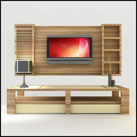 modern tv wall unit tv wall unit modern design x 14 3d models cgtrader com