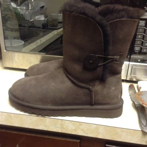 jodeci boots 33 ugg shoes uggs chocolate brown size 8