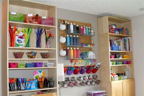 Baking Cabinet Organization craft storage that doubles as decor