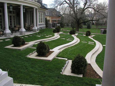 landscaping design  outdoor patio  garden