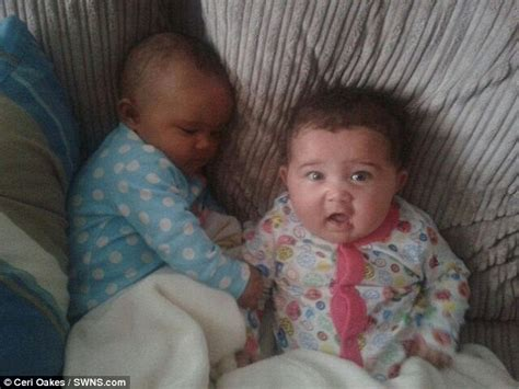 newborn skin color identical with different skin colour born in