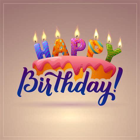 clipart auguri compleanno cartolina d auguri di buon compleanno dolce con le candele