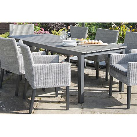 buy kettler bretagne 8 seater outdoor dining table lewis