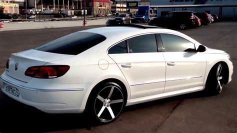 white volkswagen passat black rims vw passat cc facelift 2012 r line vossen cv3 youtube