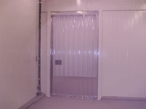 vinyl curtain door vinyl strip door curtain 48 quot x 84 quot cooler freezer ribbed