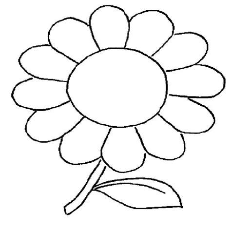 imagenes infantiles para colorear de flores dibujos para imprimir y colorear de flores