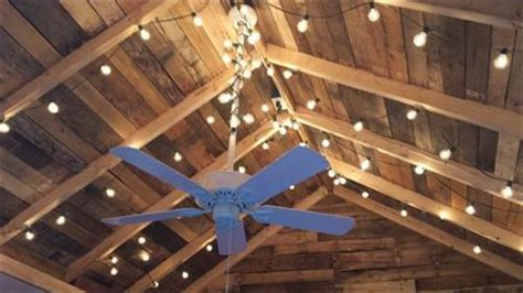 Project On Your Ceiling by Pallet Wood Ceiling Ideas Pallets Designs